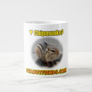 peanutfiends.comのシマリスのマグ ジャンボコーヒーマグカップ