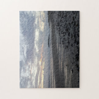 Pebble BeachのRhossili湾の写真のパズル ジグソーパズル