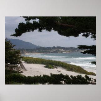 Pebble Beach ポスター