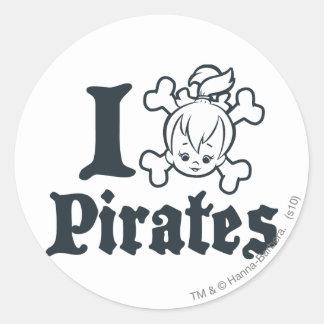 PEBBLES™海賊 ラウンドシール