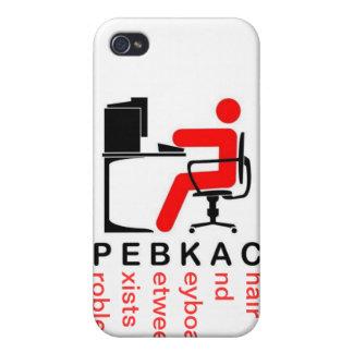 PEBKACのiPhoneの場合 iPhone 4 Case