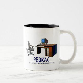 PEBKAC ツートーンマグカップ