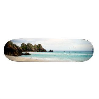 Pedn Vounderのコーンウォールのビーチのスケートボード 20cm スケートボードデッキ