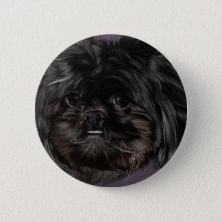 Peekapooボタン 5.7cm 丸型バッジ
