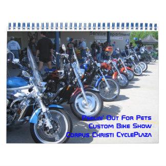 Peelinペットカスタムなバイクショーのために カレンダー