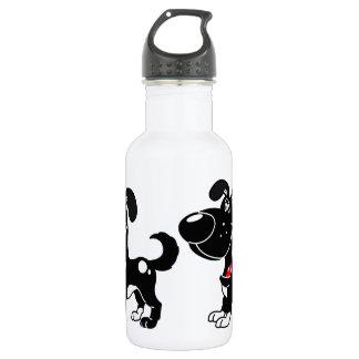 PEGUIの子犬-影 ウォーターボトル