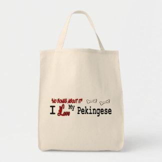 Pekingeseのギフト トートバッグ