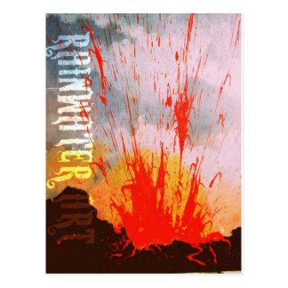 Peleの火 ポストカード