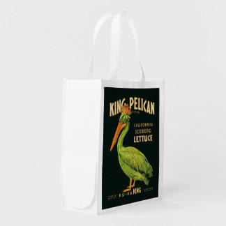 Pelican王のアイスバーグレタス エコバッグ
