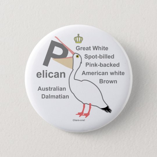 Pelican3 5.7cm 丸型バッジ