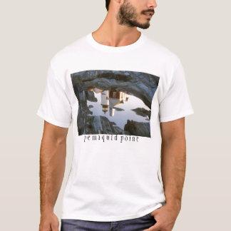 Pemaquidの潮プールの反射 Tシャツ