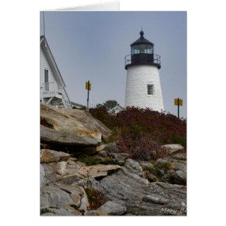 Pemaquidの灯台 カード