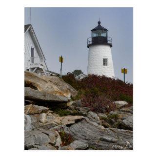 Pemaquidの灯台 ポストカード