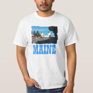 Pemaquidの灯台 Tシャツ