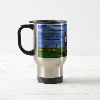 Pemaquidポイント灯台コーヒーマグ トラベルマグ