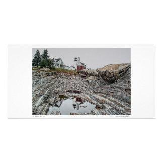 Pemaquidポイント灯台写真カード カード