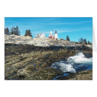 Pemaquidポイント灯台14 カード