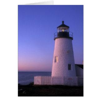 Pemaquidポイント灯台 カード