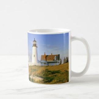 Pemaquidポイント灯台 コーヒーマグカップ