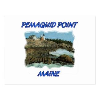 Pemaquidポイント灯台 ポストカード