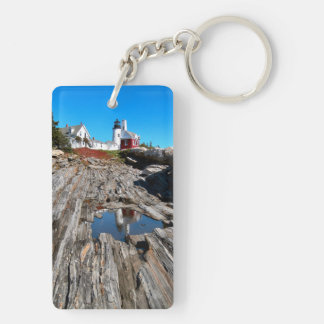 Pemaquidポイント灯台、メイン キーホルダー