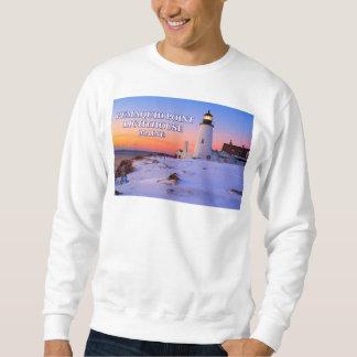 Pemaquidポイント灯台、メイン スウェットシャツ