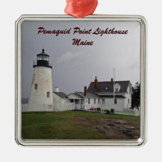 Pemaquidポイント灯台、メイン メタルオーナメント