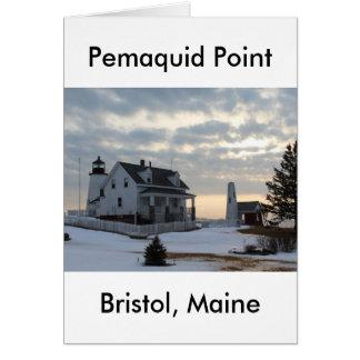Pemaquidポイント9115 カード