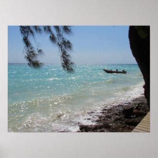 Pembaの島、タンザニア ポスター