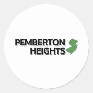 Pembertonの高さ、ニュージャージー ラウンドシール