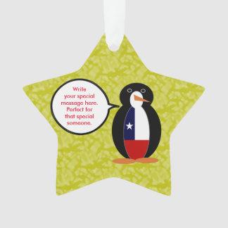 Penguinチリの休日の氏 オーナメント
