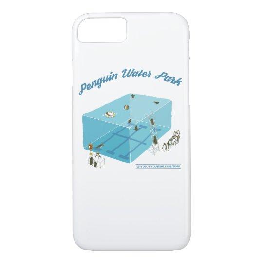 penguin water park iPhone 8/7ケース