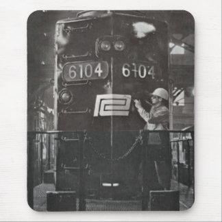 Pennの中央鉄道列車システムの誕生 マウスパッド
