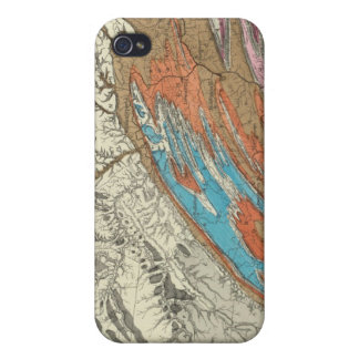 Pennの地形 iPhone 4/4S Cover