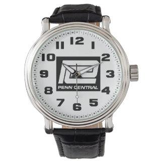 Pennの本部の鉄道 腕時計