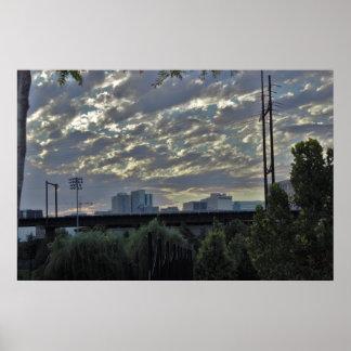 Penn公園フィラデルヒィアからの眺め ポスター