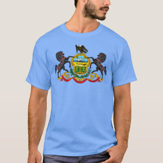 Pennsylvania Coat of Arms T-Shirt Tシャツ