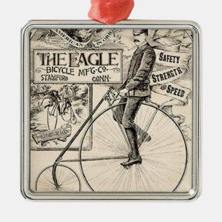 Pennyfarthing Old Timeyのビクトリアンな自転車の広告 メタルオーナメント