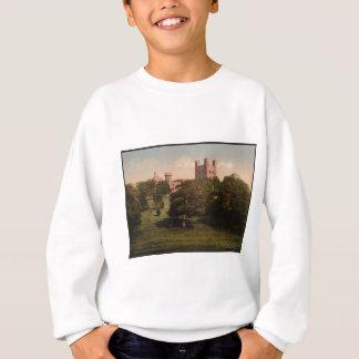 Penrhynの城のウェールズのヴィンテージの写真の汗 スウェットシャツ