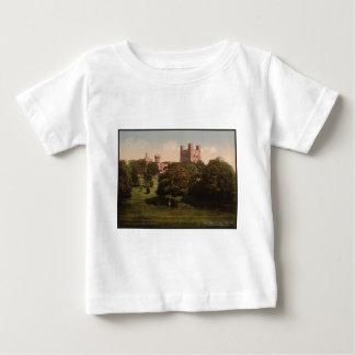 Penrhynの城のウェールズのヴィンテージの写真のTシャツ ベビーTシャツ