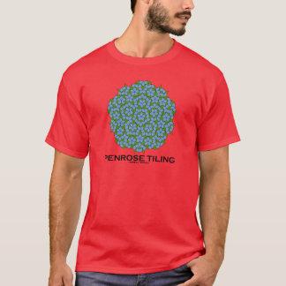Penroseのタイル(5重の対称) Tシャツ