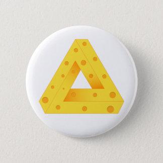 PenroseのチーズPin 5.7cm 丸型バッジ