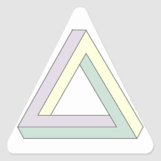 Penroseの三角形 三角形シール
