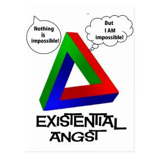 Penroseの三角形-何も不可能ではないです ポストカード