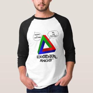 Penroseの三角形-何も不可能ではないです Tシャツ