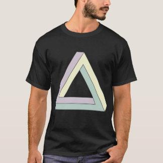 Penroseの不可能な三角形 Tシャツ