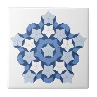 Penroseの青のタイル タイル