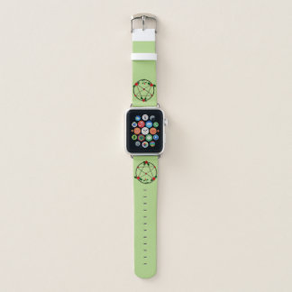 Pentacle of Vines and Red Roses Apple Watchバンド