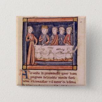 Pentecostの晩に… 「 5.1cm 正方形バッジ