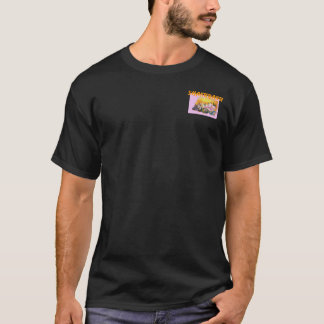 Peony Japanese KANJI Sweet Design T-shirt Tシャツ